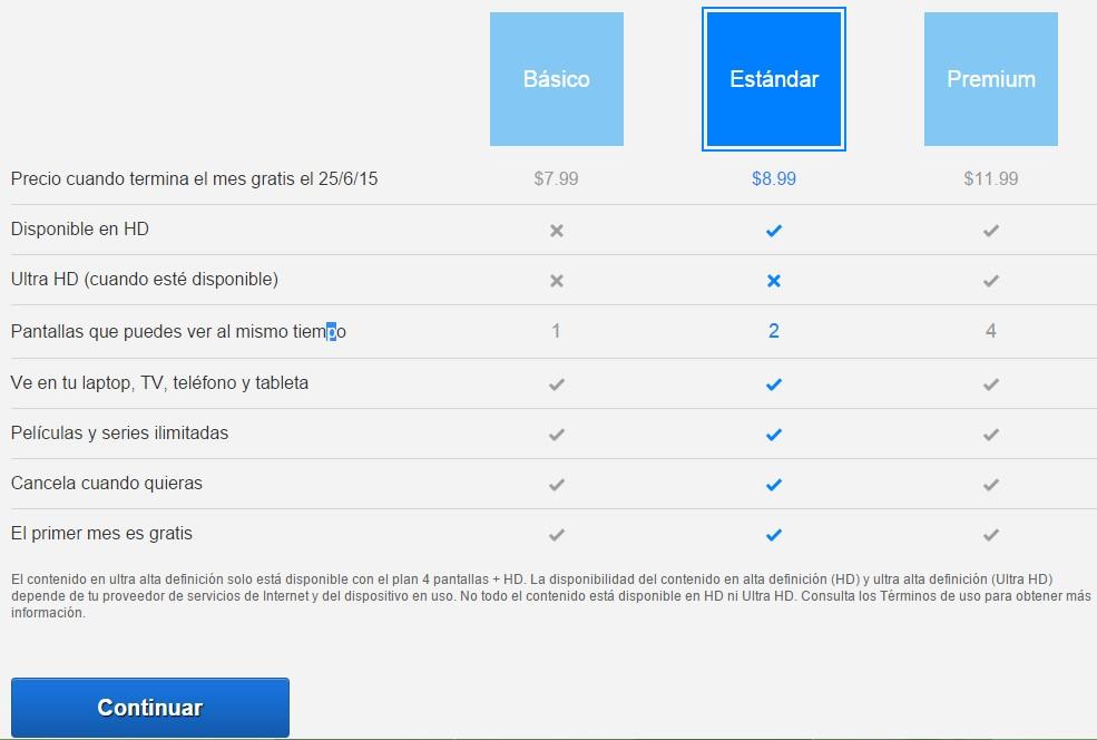 cuenta de netflix gratis 2015