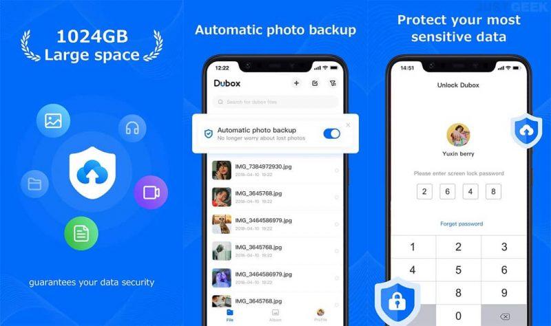 Dubox una nube gratuita que te proporciona 1 Terabyte de almacenamiento | ¿Necesitas ayuda?